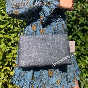 Kate spade bag joeley glitter dawn blue crossbody